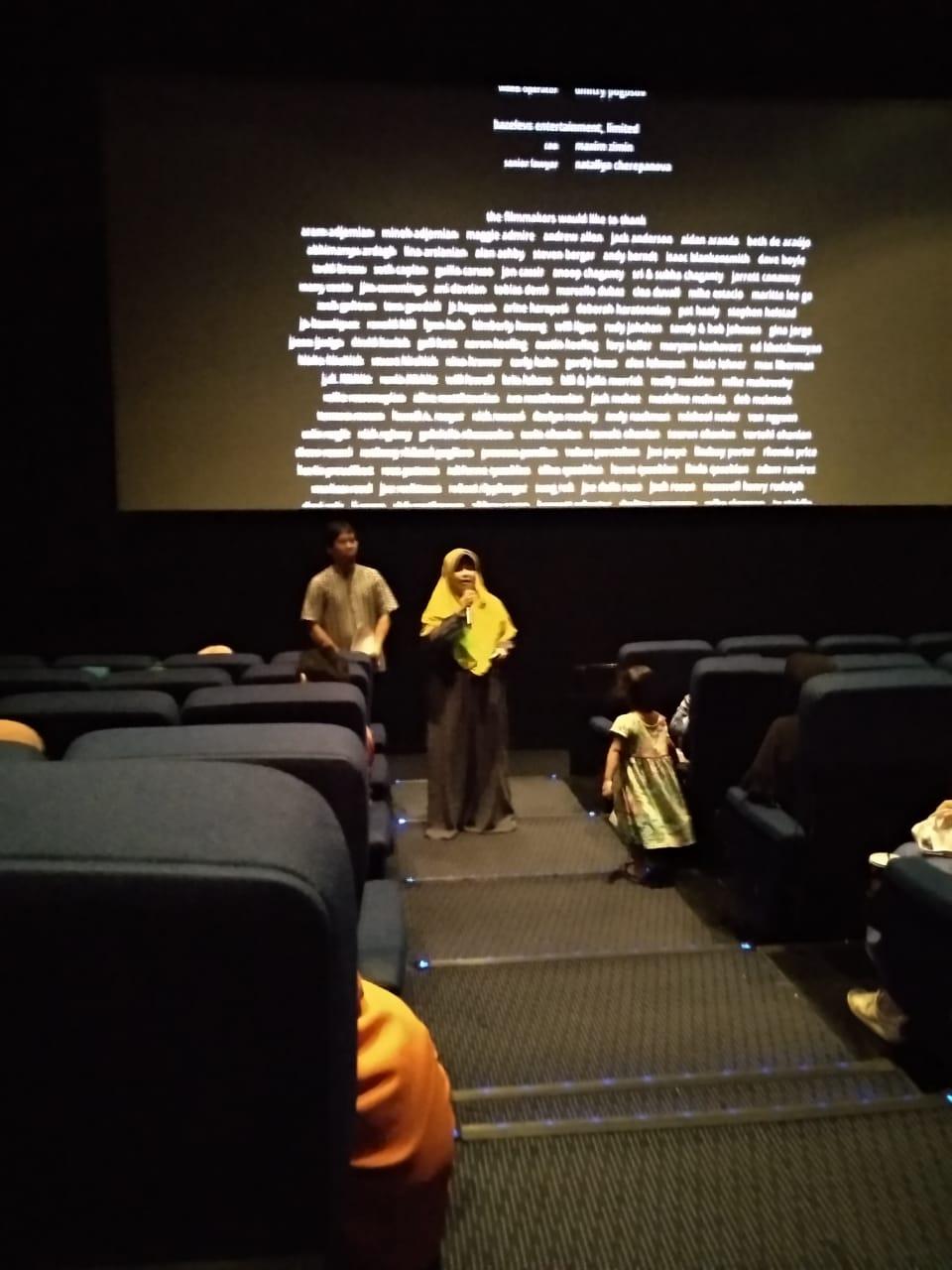Ratusan Emak-Emak Geruduk Bioskop Luncurkan MakHijrah