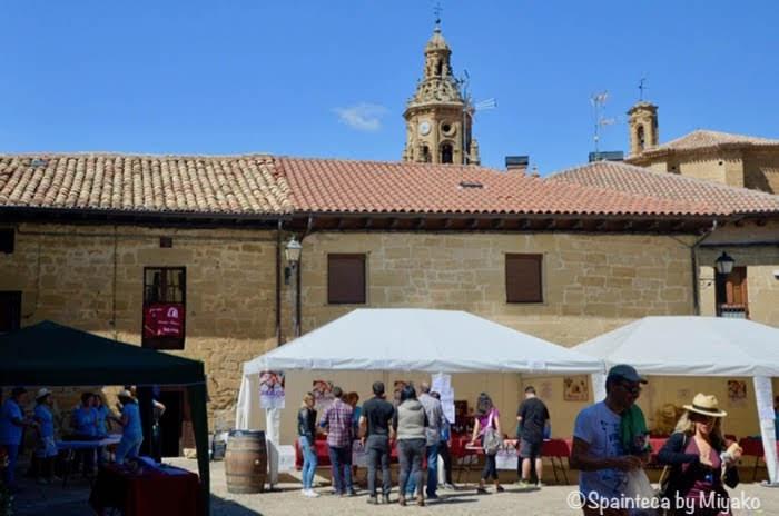 Abalos, Spain スペインのリオハのアバロス村ワイン祭りと村の人たち