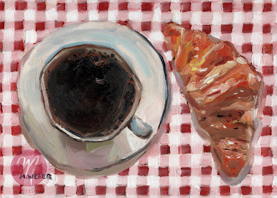 croissant-coffee-painting-merrill-weber