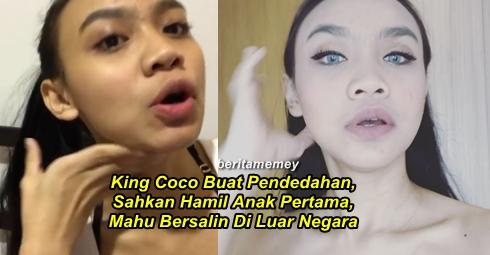 AKHIRNYA, King Coco Buat Pendedahan, Sahkan Hamil Anak Pertama, Mahu Bersalin Di Luar Negara