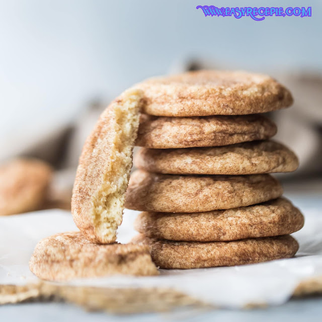Soft and Easy Snickerdoodle Cookies Recipe at Home