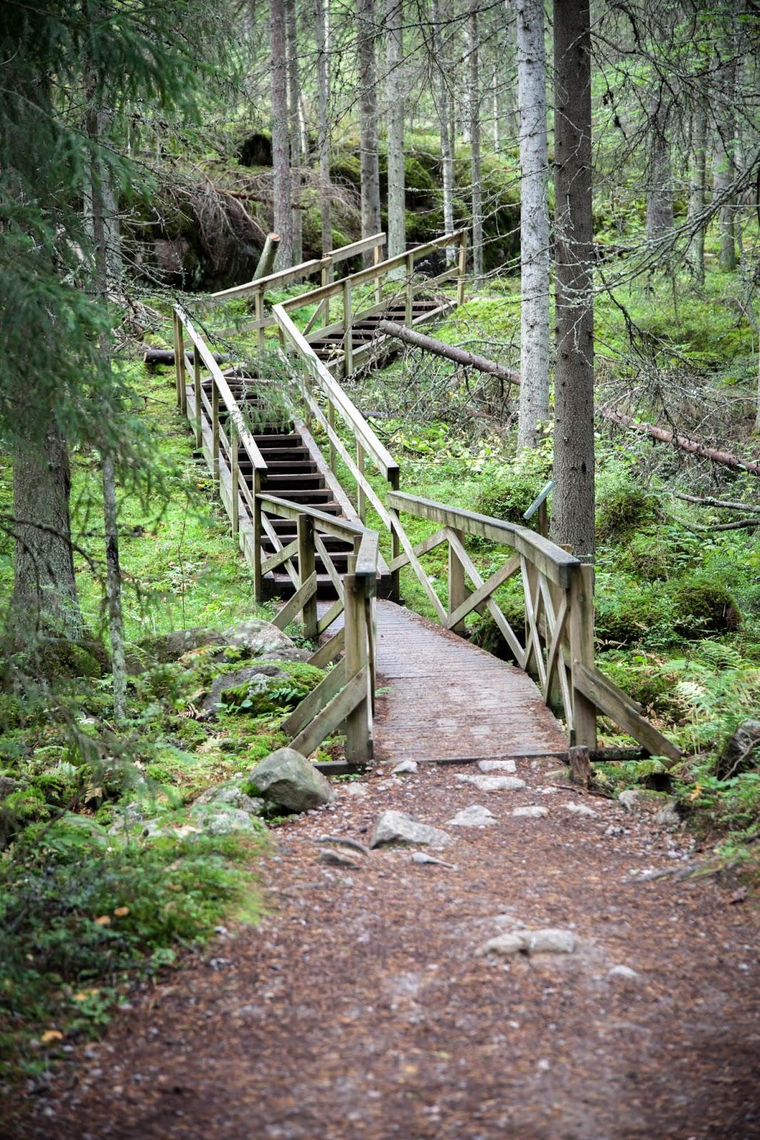 helvetinjärvi ruovesi kansallispuisto