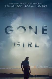 portada de la película perdida, gone girl,