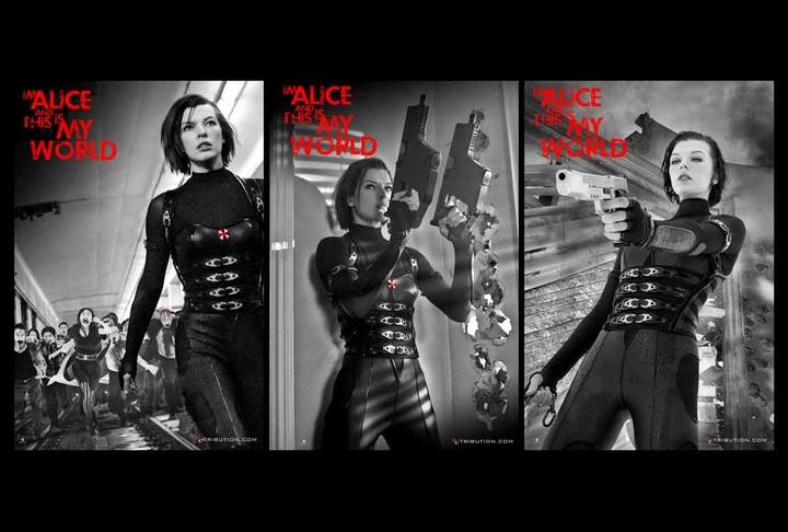 New Resident Evil Retribution Featurette Alice S Story