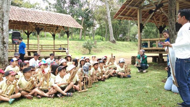 Outbound Anak Interaktif | Harmonisasi Angklung