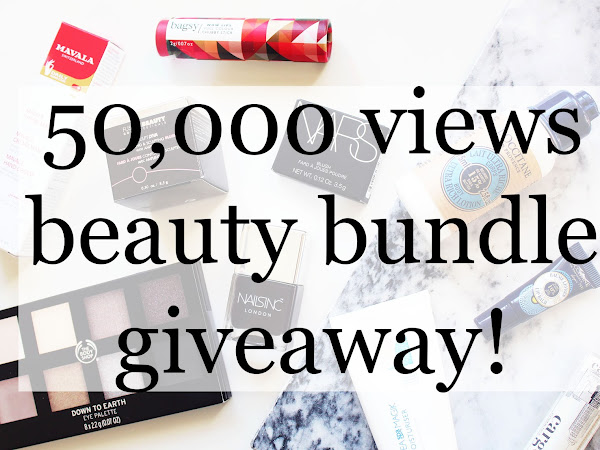 50,000 VIEWS BEAUTY BUNDLE GIVEAWAY!
