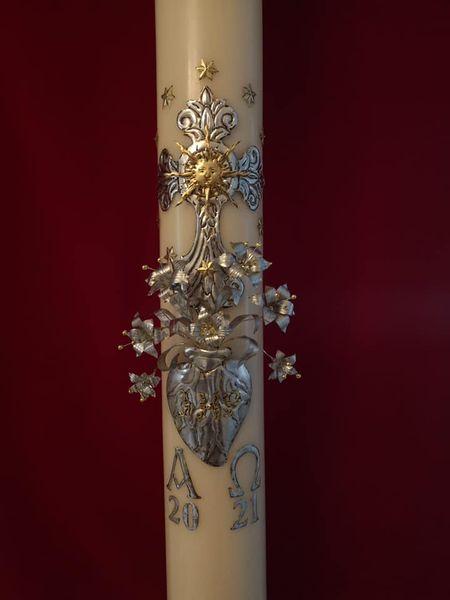 El Cirio Pascual de la Parroquia de San Jose de Cádiz
