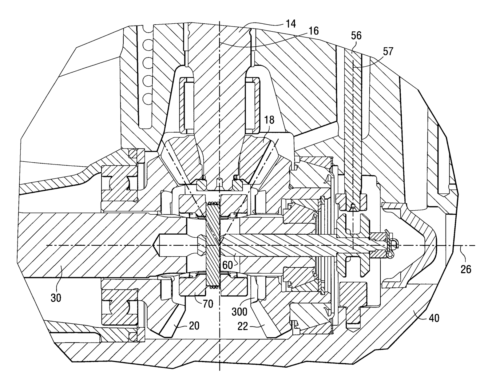 Clutch retention system for a marine propulsion device