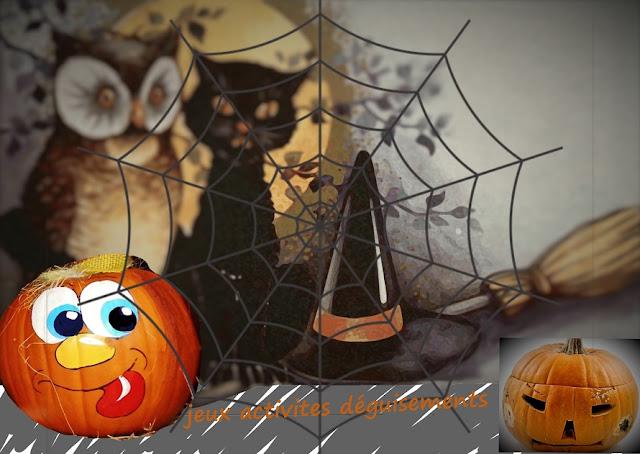 déguisements, jeux, diy spécial Halloween pour enfants