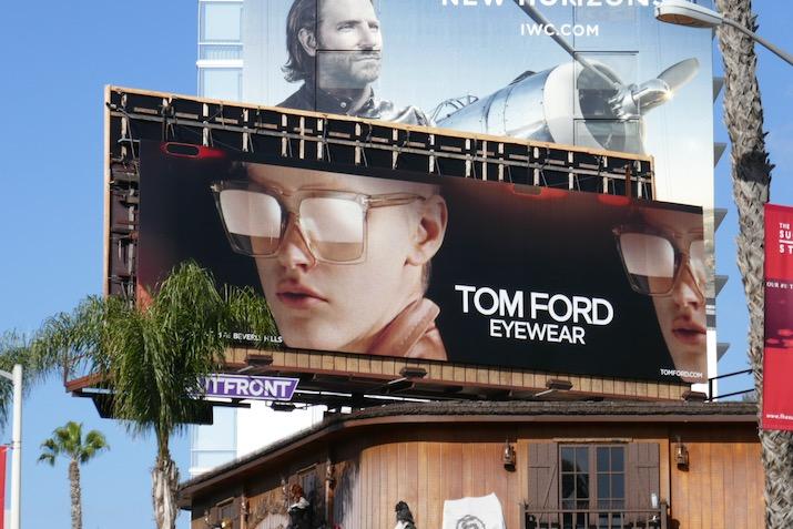 Tom Ford Eyewear SS20 billboard