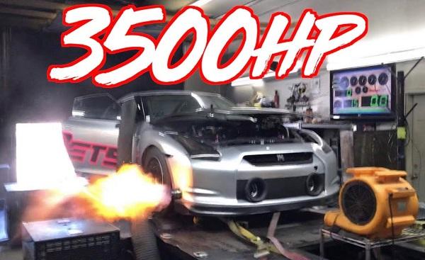 El Nissan GT-R preparado por ETS ahora alcanza los 3.500 CV