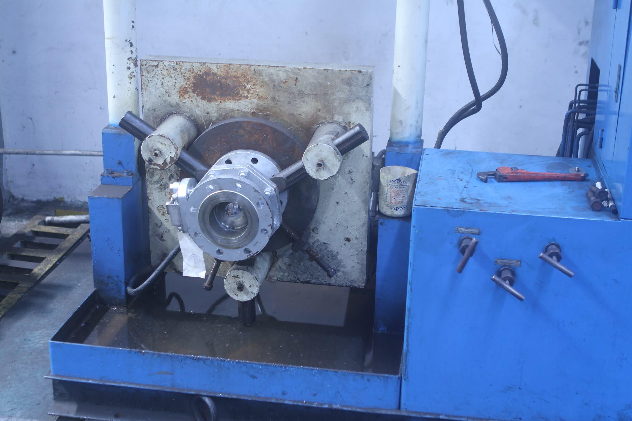 jasa hydrotest valve pipa