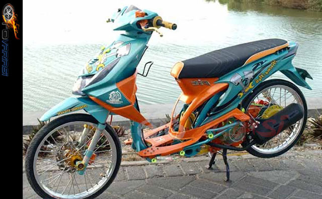 modifikasi beat gaya thailook