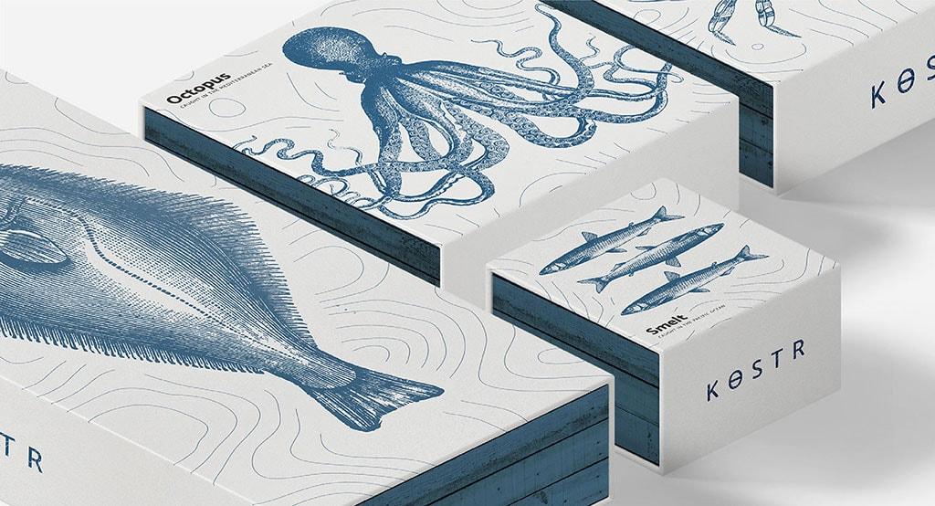 Inspirasi Desain Kemasan Packaging - Kostr Seafood
