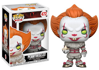 IT, Pennywise with Boat, Funko Pop Figure, It Movie gifts and merchandise, Stephen King Store