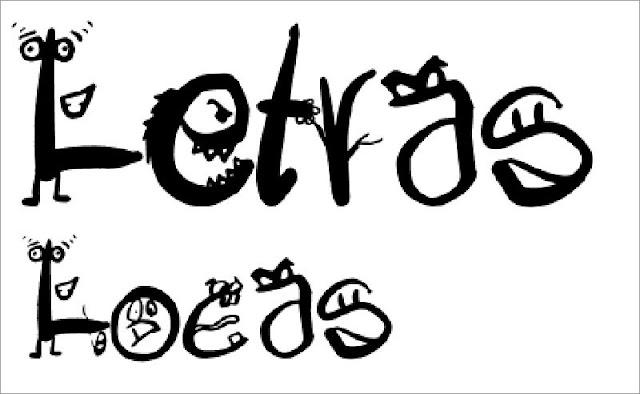 Letras Locas Font Free Download