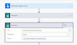 get_row_google_sheets_power_automate