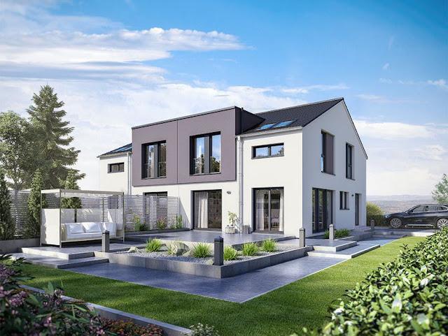 Duplex Bungalow Design