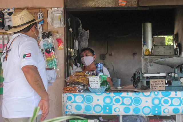 """Panchito"" Torres exhorta a consumir lo que producen las manos yucatecas"