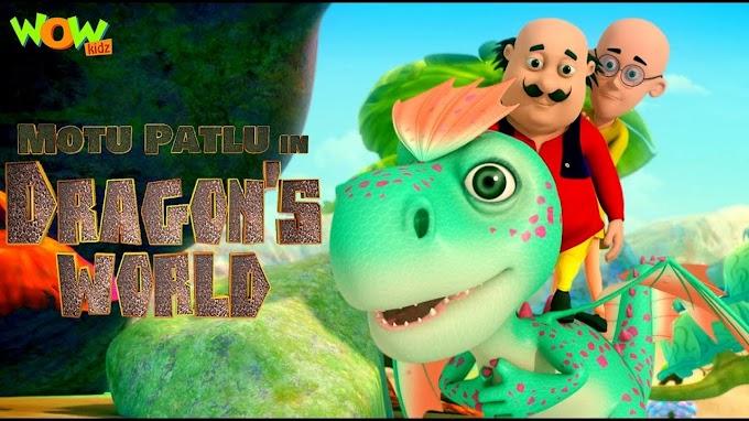 Motu Patlu In Dragon's World [Tamil + Telugu + Hindi] Dubbed Full Movie Free Download