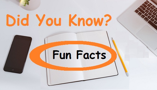 Top 30 Most Interesting and Random Fun Facts
