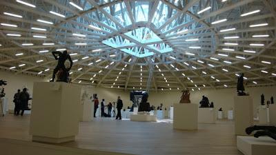 El museo Soumaya en la ciudad de México