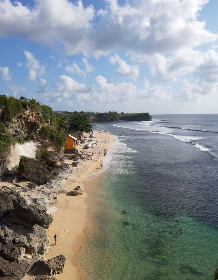 Rute Lokasi Balangan Beach Jimbaran Bali