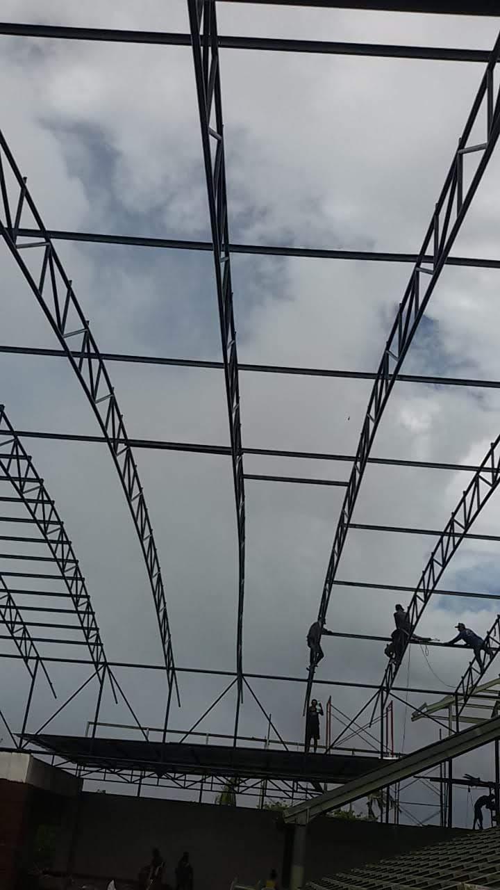 tukang baja ringan lombok berat bali wf pasang atap galvalume tbl 0 4 di