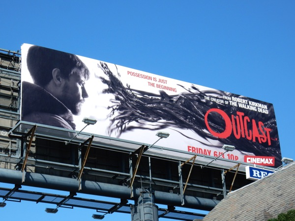 Outcast Cinemax series billboard