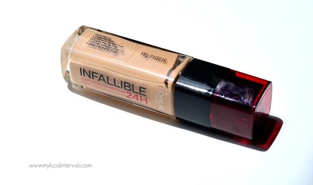 l'oreal infallible stay fresh foundation