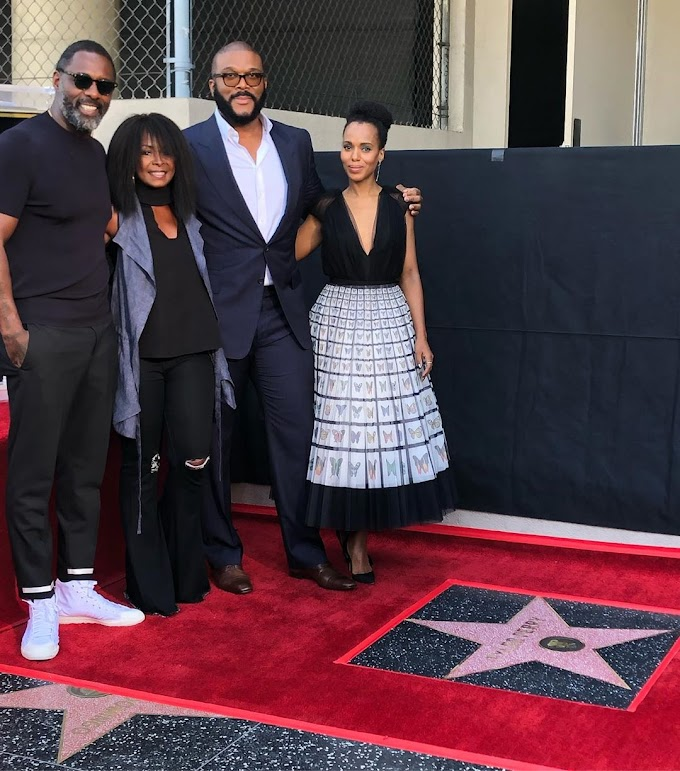 Tyler Perry Gets a Star on Hollywood Walk of Fame
