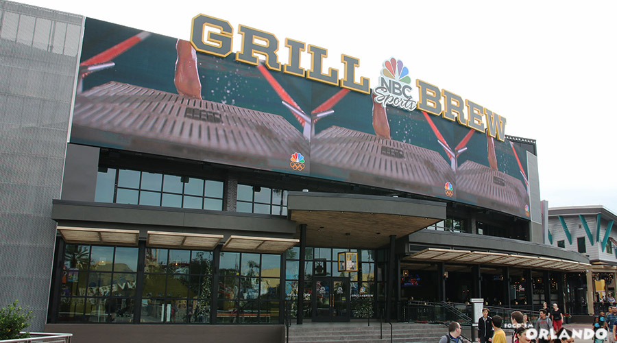 NBC Sports Grill & Brew, no Universal City Walk.