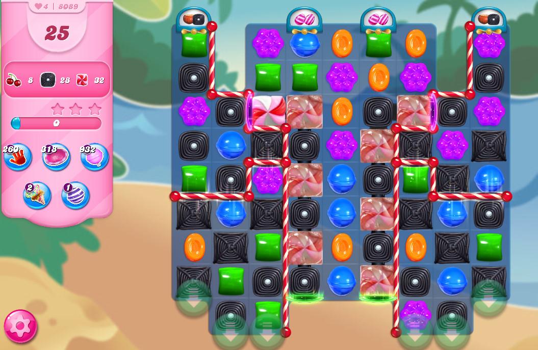 Candy Crush Saga level 8089