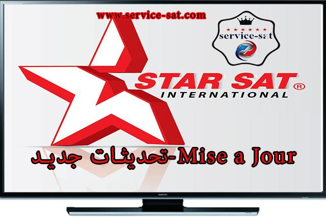 تحديثات جديدة لاجهزة STARSAT 18-03-2020