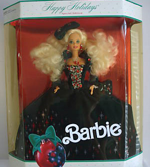 1991 Happy Holiday Barbie Doll Last Day For Cheapest
