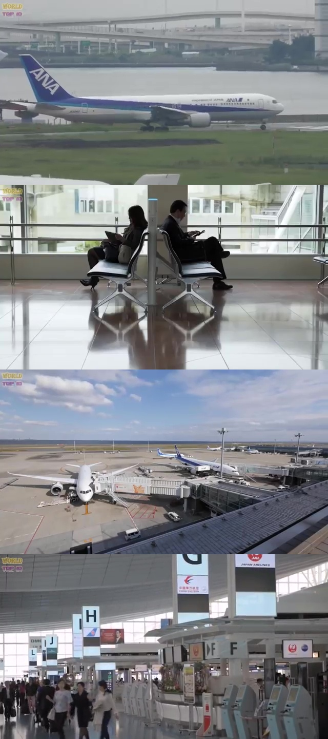 top airports in the world, top ten best airport, best airport in the world, top ten best airport in the world, Tokyo International Haneda