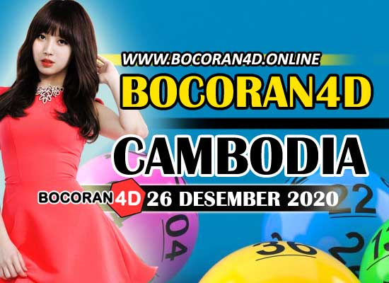 Bocoran 4D Cambodia 26 Desember 2020