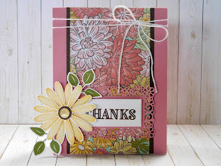 Make It Monday - Ornate Thanks Thank You Card (Quick And Easy!)