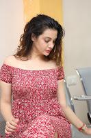 Diksha Panth in a Deep neck Short dress at Maya Mall pre release function ~ Celebrities Exclusive Galleries 103.JPG