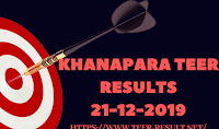 Khanapara Teer Results Today-21-12-2019