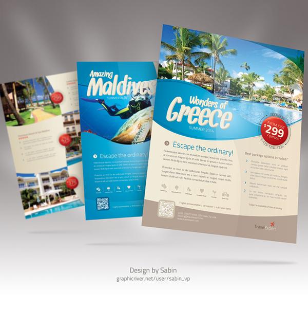 poster quảng cáo du lịch
