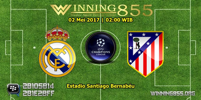 Prediksi Skor Real Madrid vs Atletico Madrid 03 Mei 2017