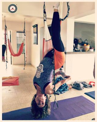 retraite yoga aérien