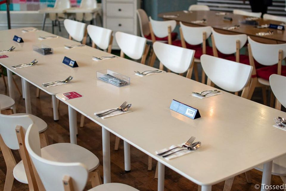 Tossed Cafe: Restaurants turn into a quiet place in Ramadan 2020