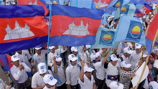 Cambodia opposition claims victory in local elections