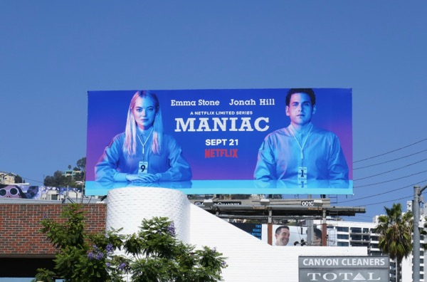 Maniac limited series billboard
