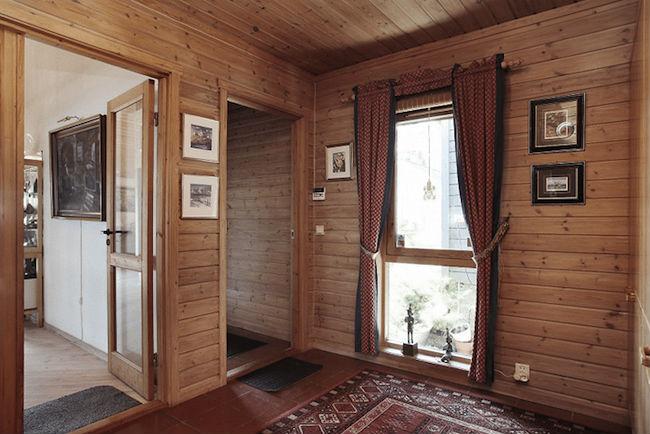 reforma sin obras de un hall con almacenamiento de Ikea stuva (vemos el antes)