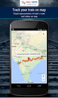 RailYatri track