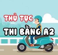 thi bằng lái xe A2