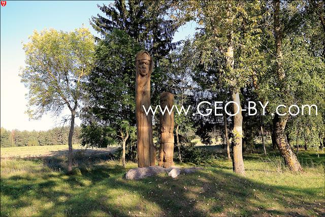 Миколаевщина. Коласовские деревянные статуи